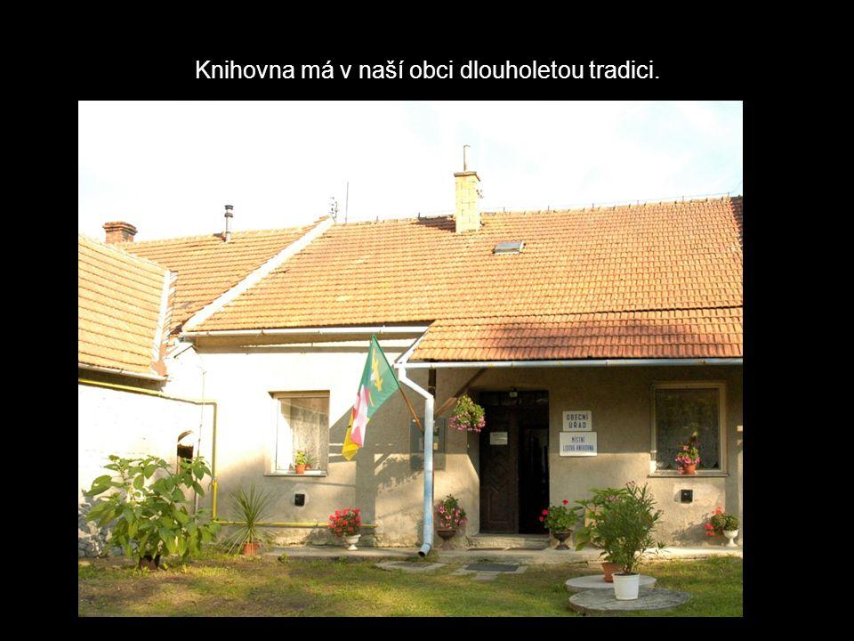 Knihovna má v naší obci dlouholetou tradici.