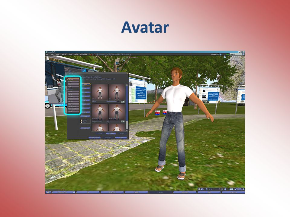 Doplňky Pod doplňky avatara rozumíme především vlasy, náramky, opasky a další propracovanější oblečky a příslušenství.