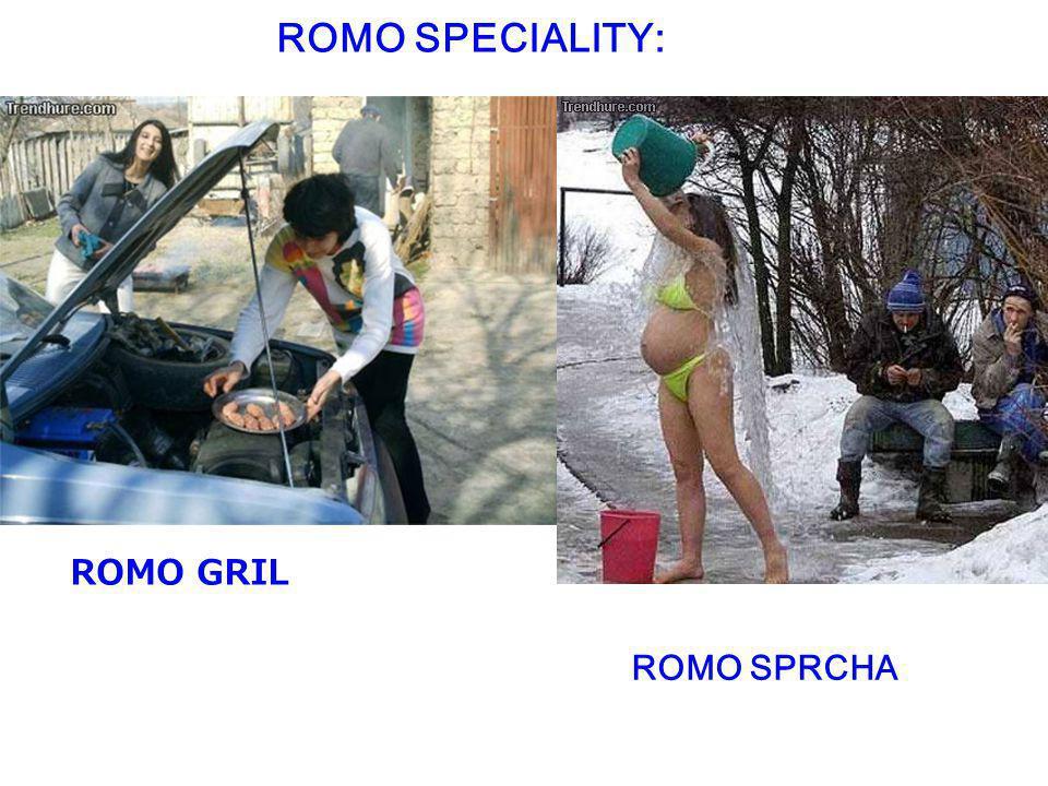ROMO GRIL ROMO SPRCHA ROMO SPECIALITY: