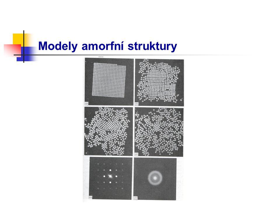 Modely amorfní struktury