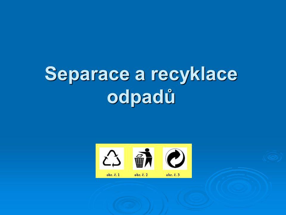 Separace a recyklace odpadů