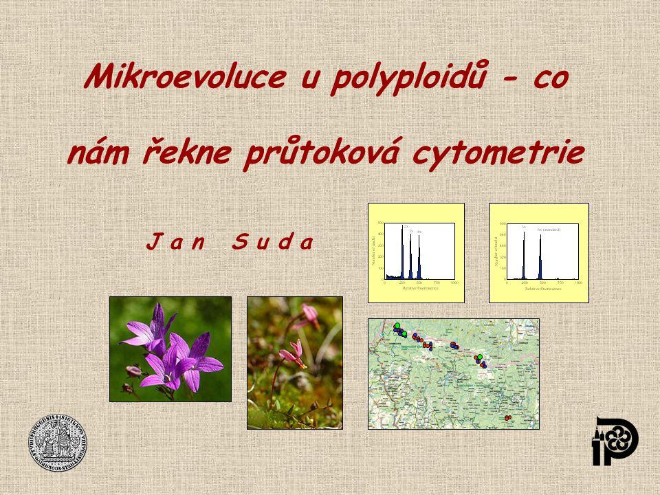 Mikroevoluce u polyploidů - co nám řekne průtoková cytometrie J a n S u d a