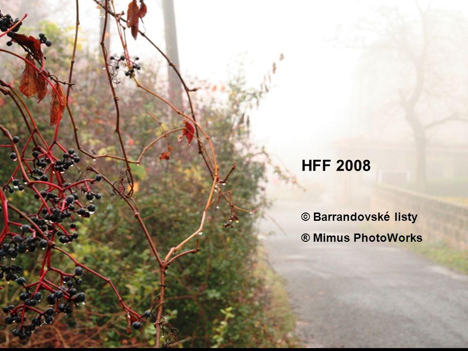 HFF 2008 © Barrandovské listy ® Mimus PhotoWorks