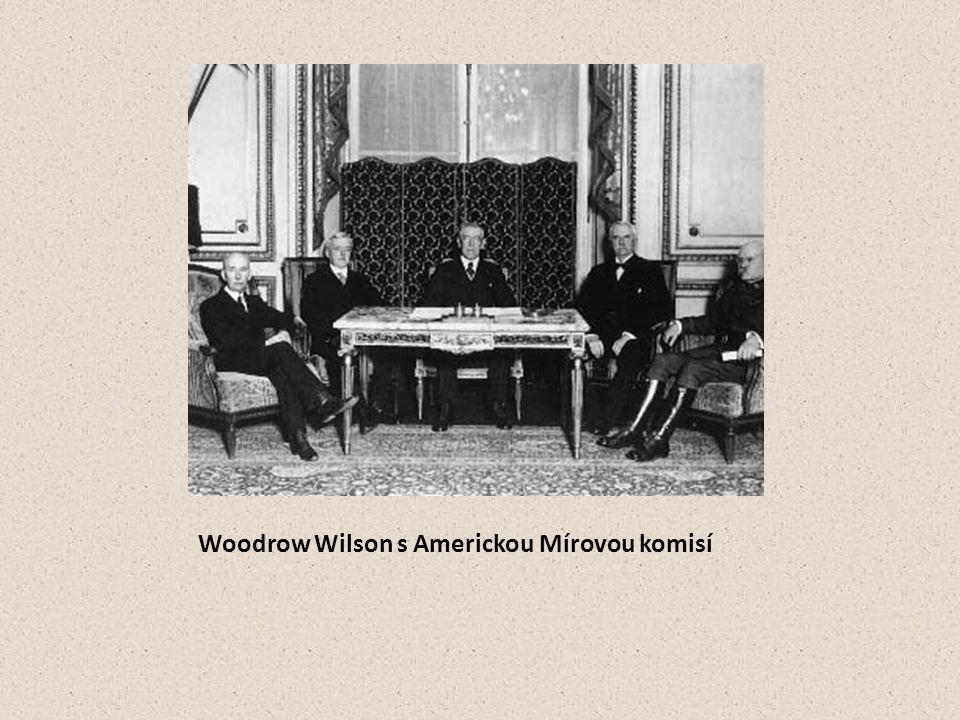 Woodrow Wilson s Americkou Mírovou komisí