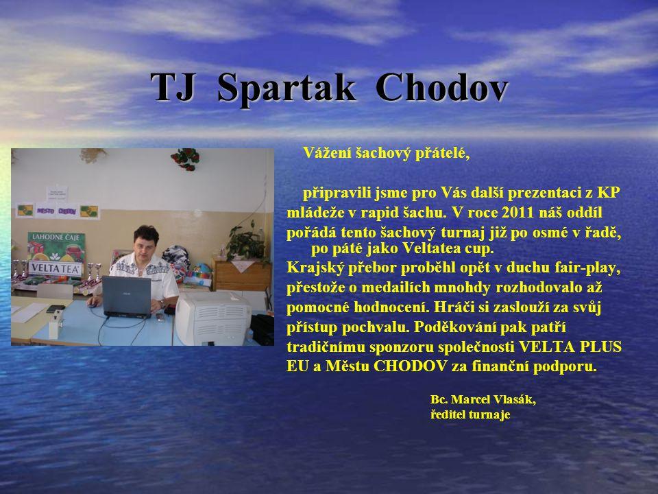 TJ Spartak Chodov Vážení šachový přátelé, připravili jsme pro Vás další prezentaci z KP mládeže v rapid šachu.