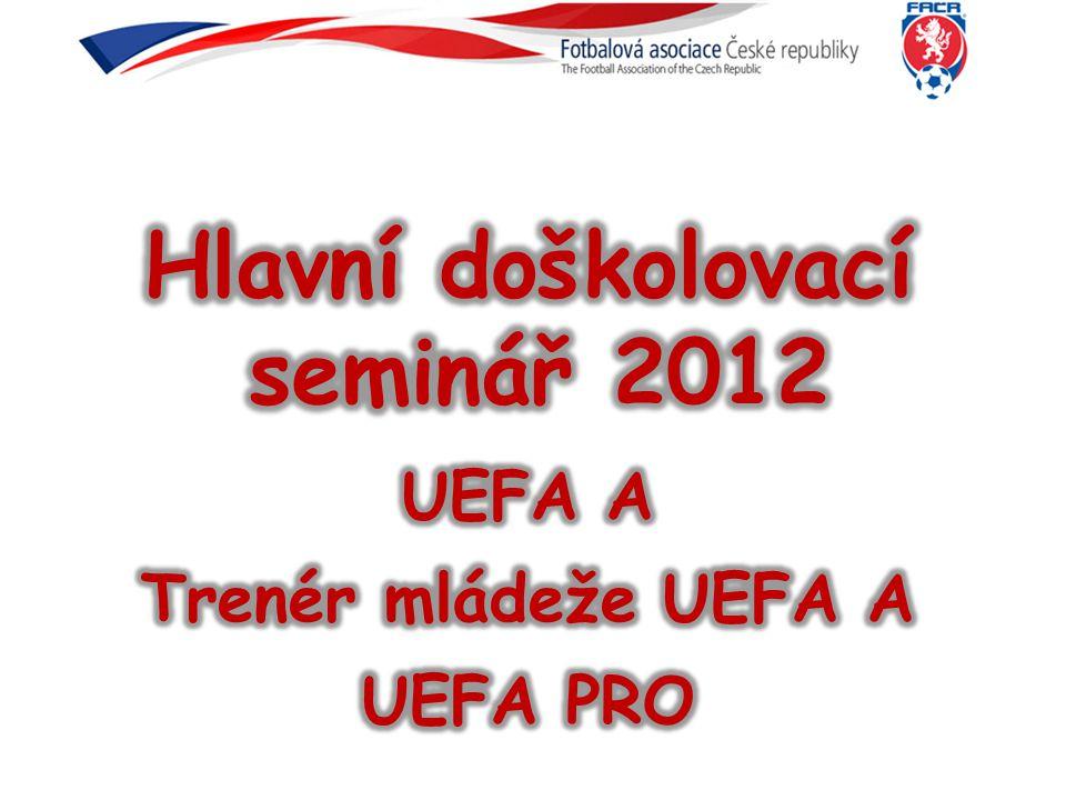 C licence 23 h C licence 23 h UEFA B licence 160 h Výchova a učení C licence 23 h UEFA Grassroots kurs 40h Radost ze hry UEFA Grassroots C licence 63 h U6-U13 Kurs UEFA B 120h