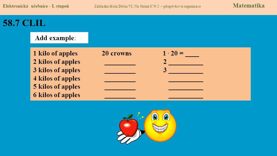 58.7 CLIL Elektronická učebnice - I.