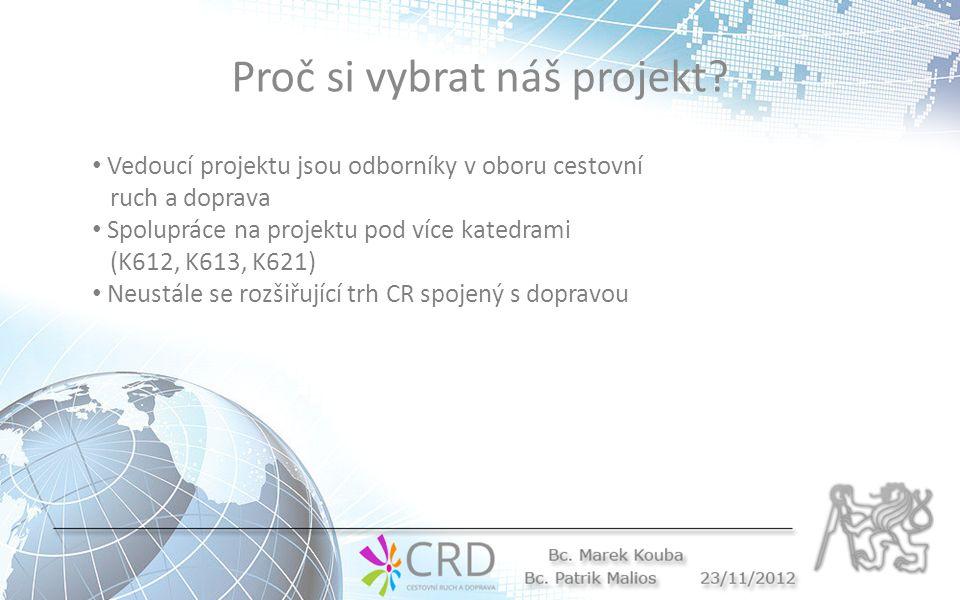 Proč si vybrat náš projekt.