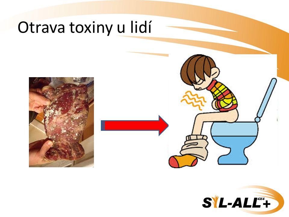Otrava toxiny u lidí