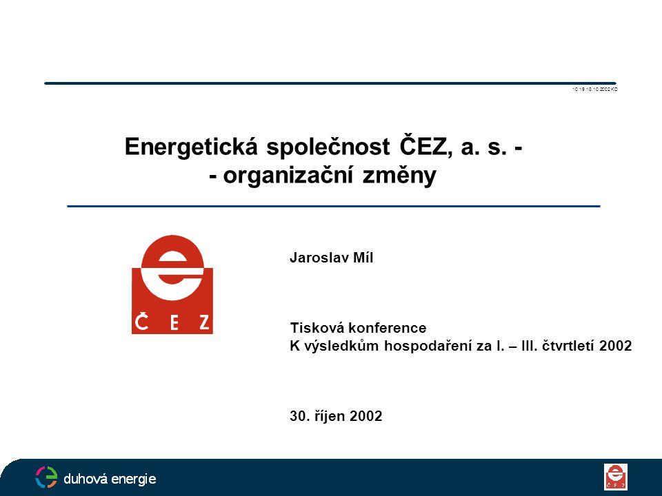 Energetická společnost ČEZ, a.s.