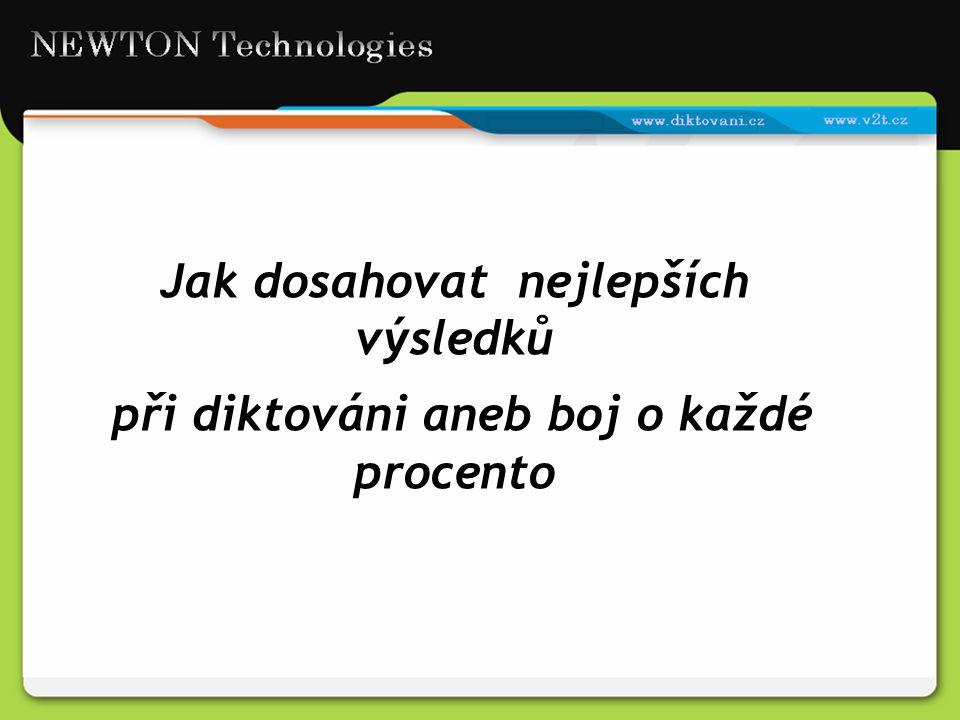 Komunikace řečí - pro člověka přirozená věc, pro počítač velmi komplikovaná úloha Systém pro rozpoznávání hlasu se stále učí 1.