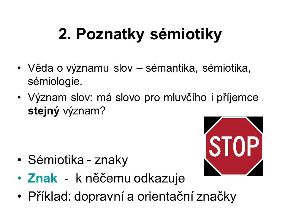 2.1 Běžné používání jazyka Pro běžné uživatelé je jazyk v první řadě prostředkem dorozumění.