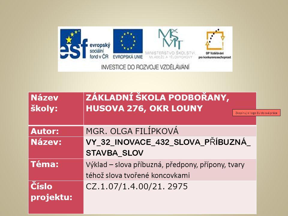 Anotace  Tato prezentace slouží k opakování a procvičení učiva v předmětu český jazyk a literatura pro žáky v 5.