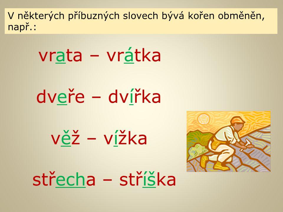 """Která slova nejsou příbuzná se slovem obyčej.Do příbuzných slov doplň """"y ."""