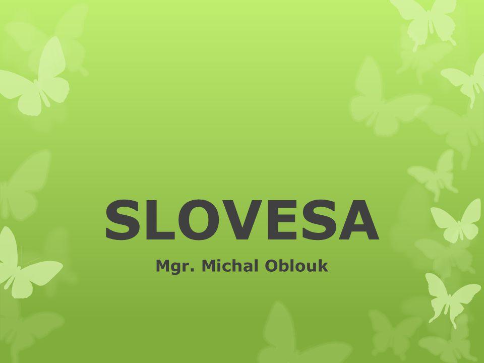 SLOVESA Mgr. Michal Oblouk