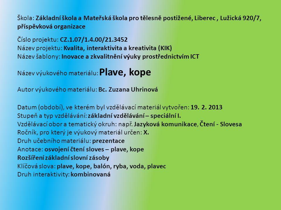 VY_32_INOVACE_Čt.14.09.1 z 1 PLAVE KOPE Bc.