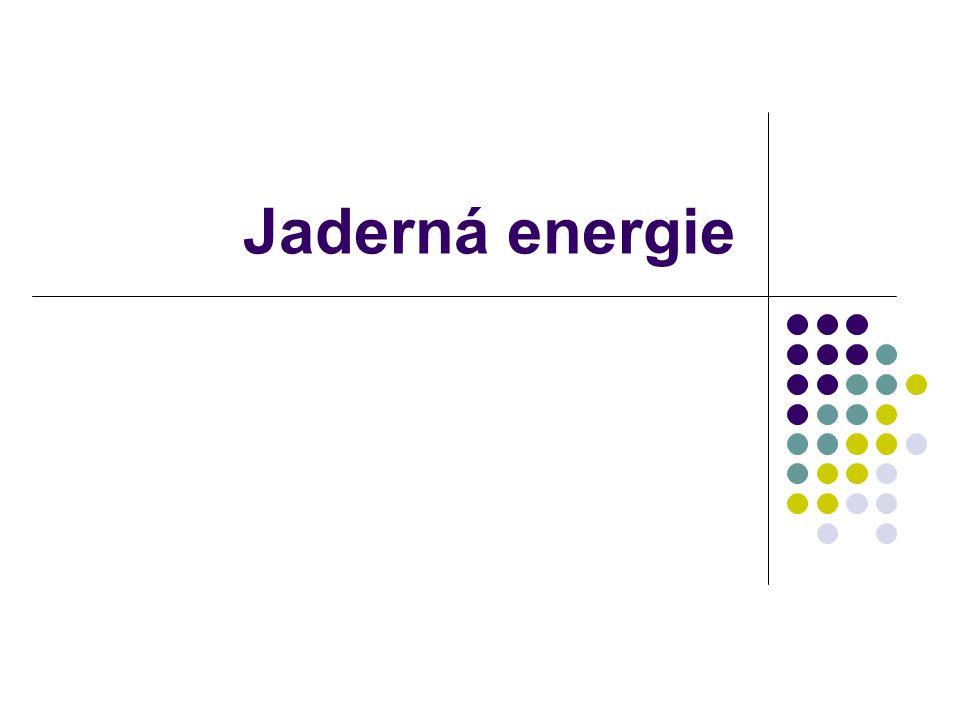Schéma jaderné elektrárny http://www.cez.cz/presentation/static/miniencyklopedie_je/k33.htm