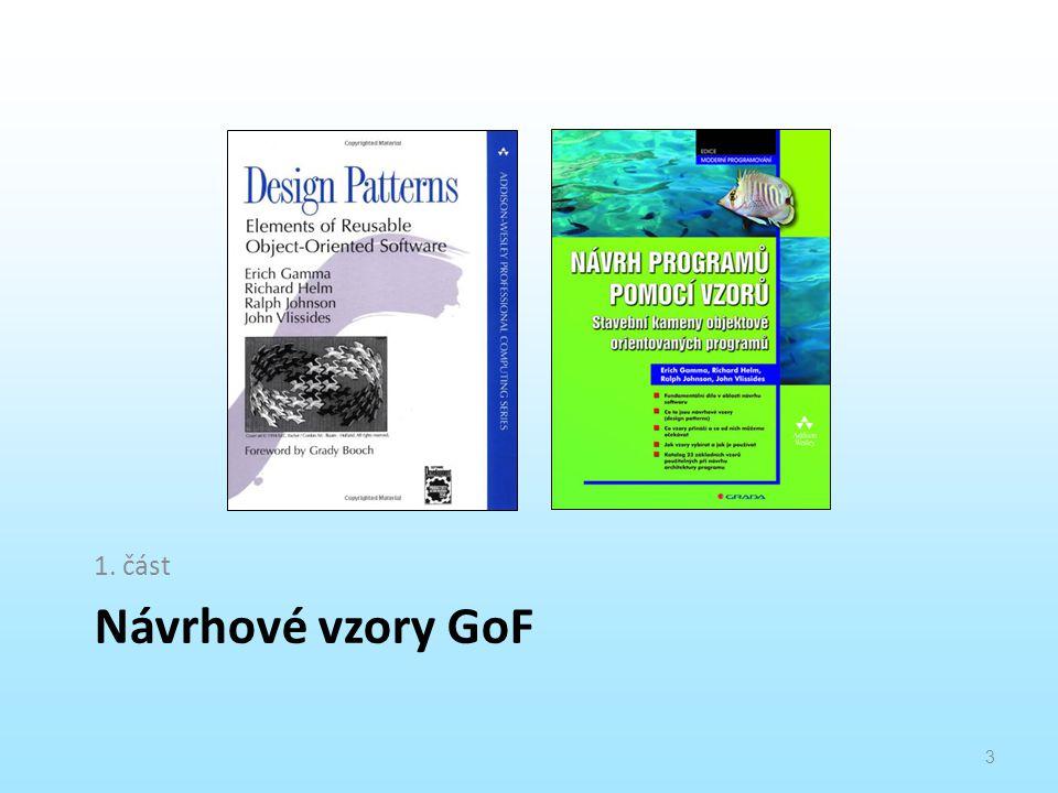 Návrhové vzory GoF 1. část 3