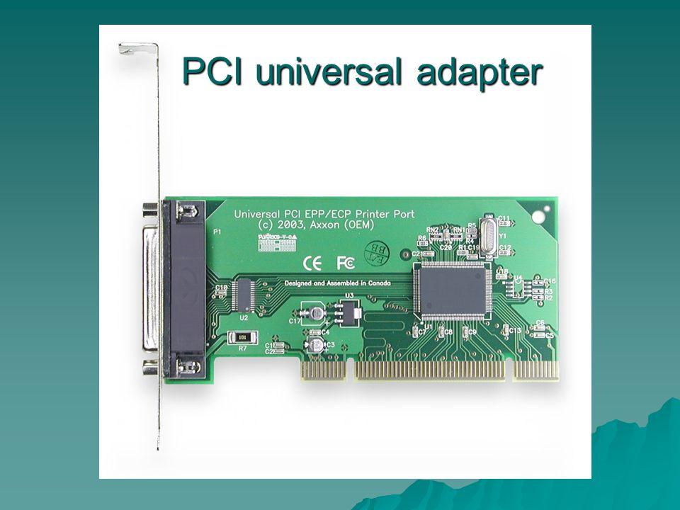 PCI universal adapter PCI universal adapter