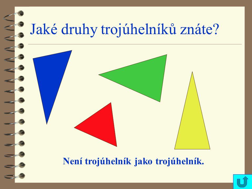 Jsou všechny trojúhelníky na obrázku rovnoramenné ?