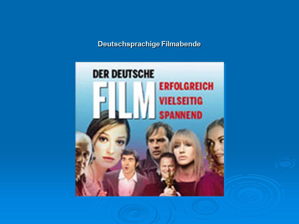 Deutschsprachige Filmabende