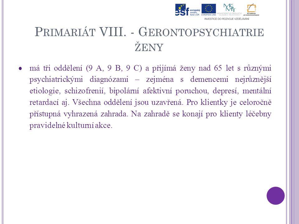 P RIMARIÁT VIII.