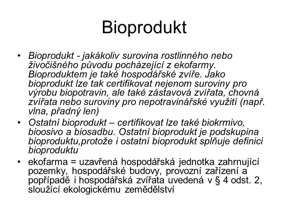 Bt-toxin  - endotoxin (Bt-toxiny) používány jako pesticid i v ekologickém zemědělství specifické pro čeleď hmyzu, příp.