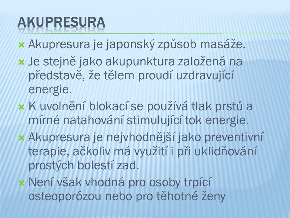  Bursová, M.(2005). Kompenzační cvičení. Praha: Grada.