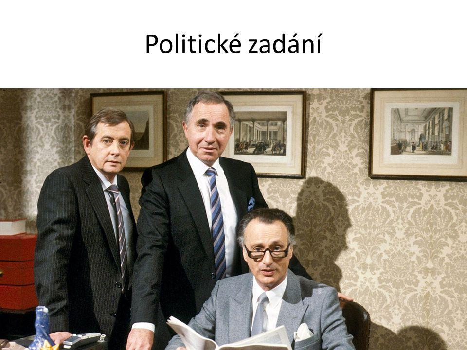Politické zadání