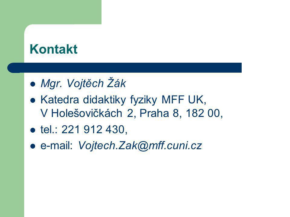 Kontakt Mgr.