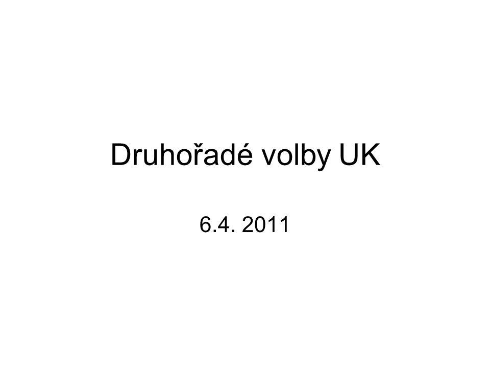 Druhořadé volby UK 6.4. 2011