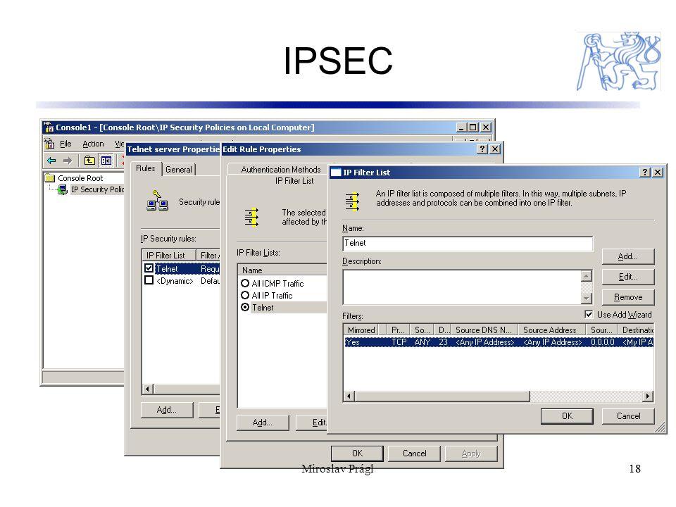 IPSEC 18 Miroslav Prágl