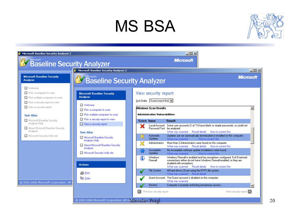 MS BSA 20 Miroslav Prágl