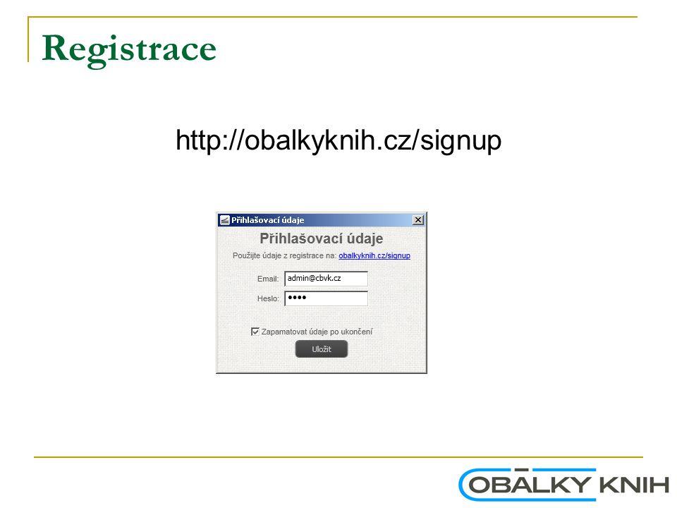 Registrace http://obalkyknih.cz/signup