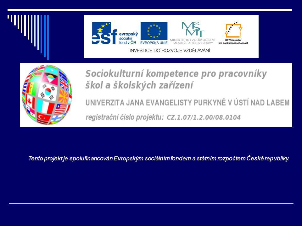  operační program:  Vzdělávání pro konkurenceschopnost  priorita 7.1 Počáteční vzdělávání  podpora 7.1.2  Rovné příležitosti dětí a žáků, včetně dětí a žáků se speciálními vzdělávacími potřebami  Tento projekt je spolufinancován Evropským sociálním fondem a státním rozpočtem České republiky.