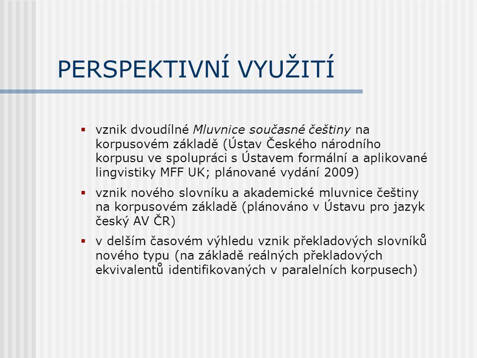 PLÁNOVANÉ APLIKACE  Regulace jazyka a koncept minimální intervence (V.