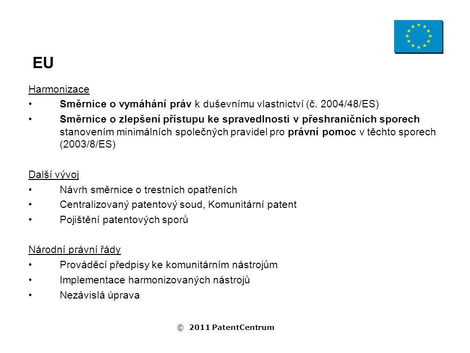 Harmonizace Směrnice o vymáhání práv k duševnímu vlastnictví (č.
