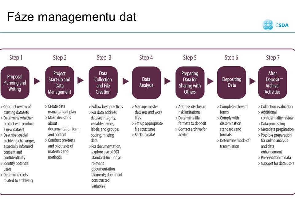 Fáze managementu dat