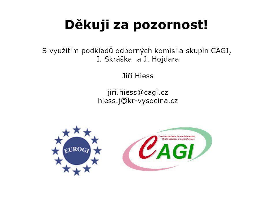 Děkuji za pozornost. S využitím podkladů odborných komisí a skupin CAGI, I.