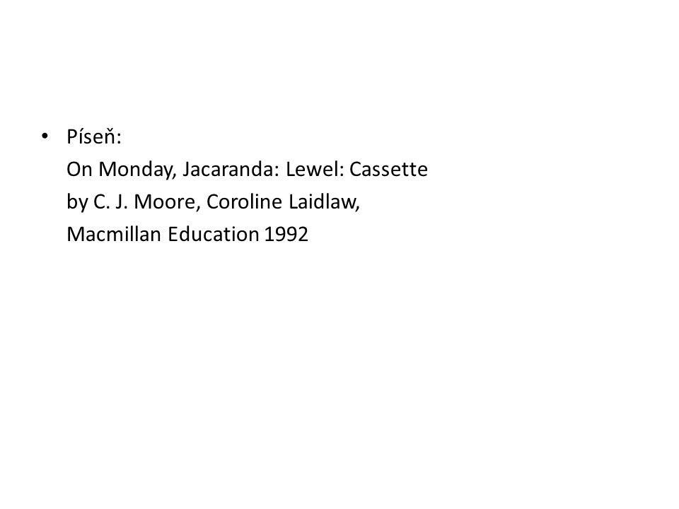 Píseň: On Monday, Jacaranda: Lewel: Cassette by C.