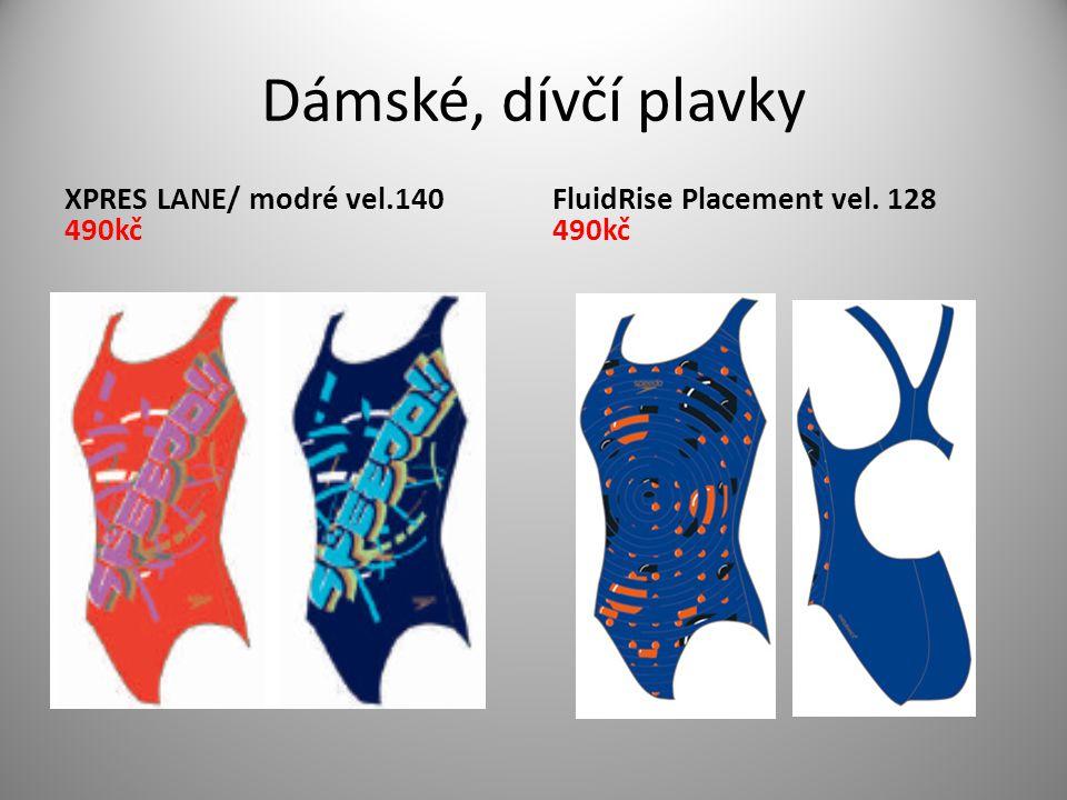Dámské, dívčí plavky XPRES LANE/ modré vel.140 490kč FluidRise Placement vel. 128 490kč