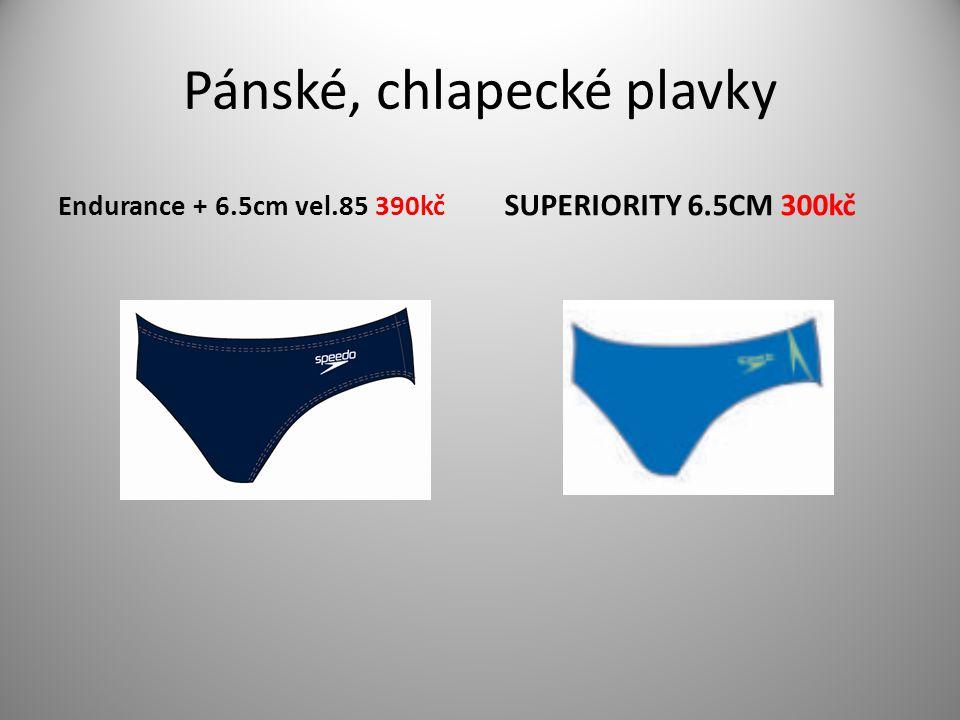 Pánské, chlapecké plavky Endurance + 6.5cm vel.85 390kč SUPERIORITY 6.5CM 300kč