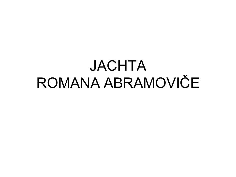 JACHTA ROMANA ABRAMOVIČE
