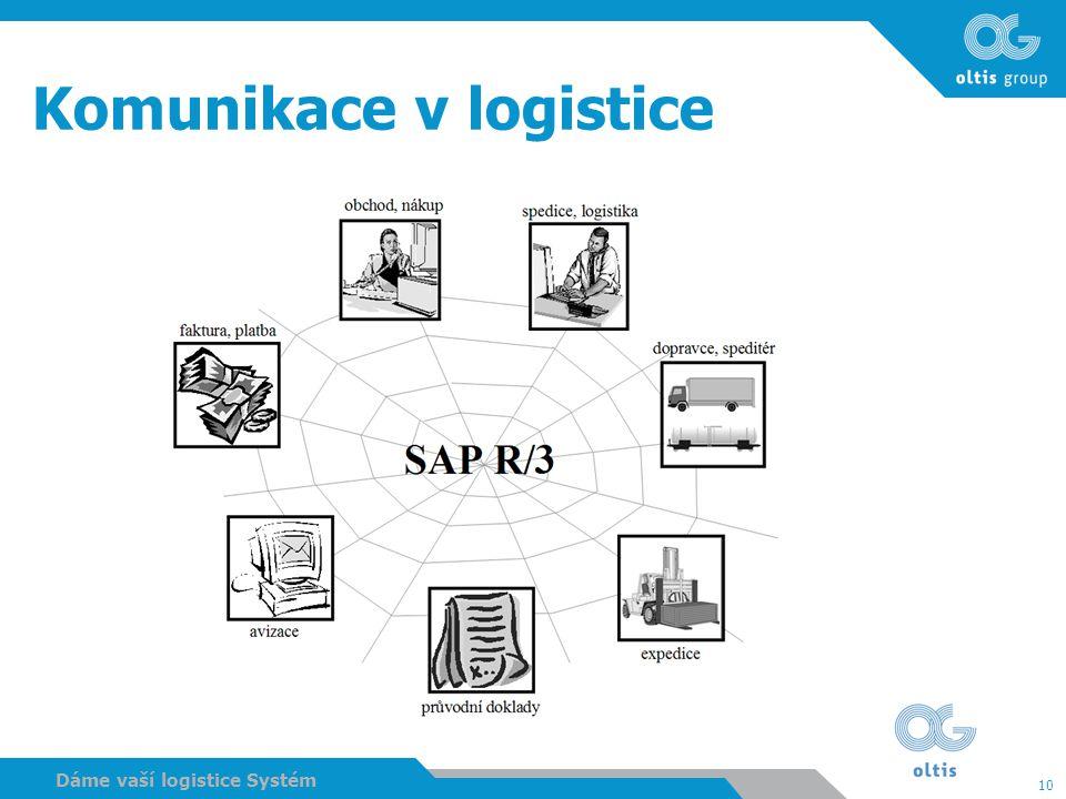 10 Dáme vaší logistice Systém Komunikace v logistice