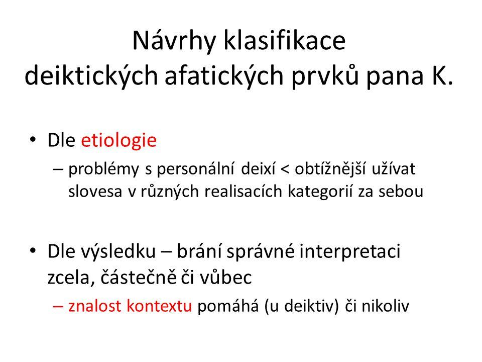 Velmi fluentní Autokorekce – neschopen neologismů – pokud to existuje v jazyce > spíš se neopraví Spolupráce ze strany komunikačních partnerů – elicituje partnerův souhlas říkám to správně.