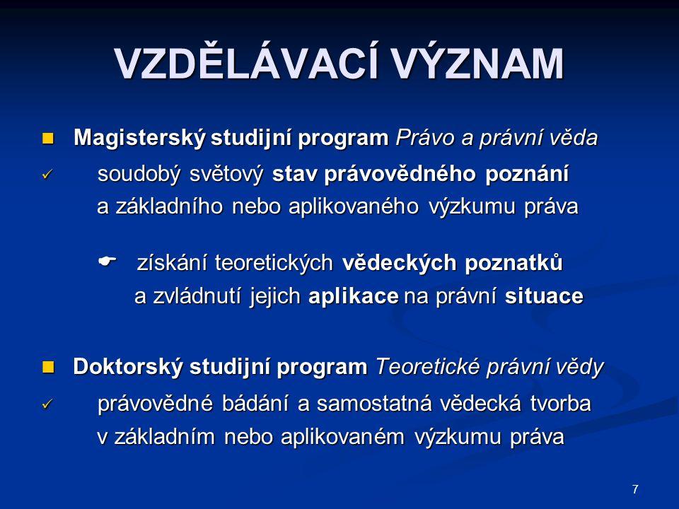 208  ÚČELOVÁ VEŘEJNÁ PODPORA Předmět Předmět 1.programový projekt poskytovatele 2.