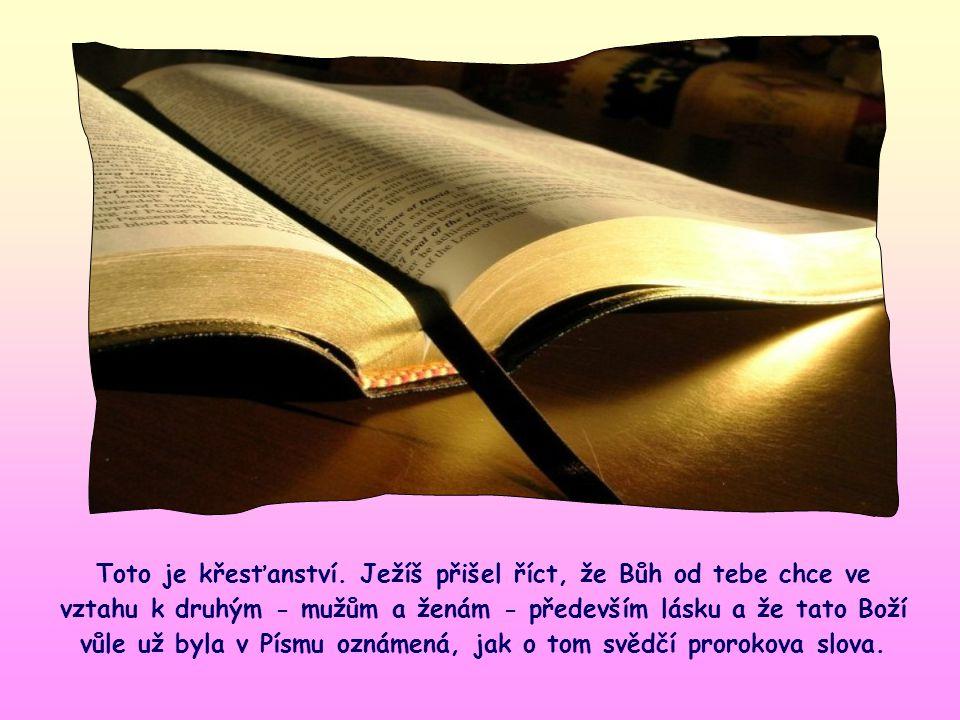 Ježíš cituje jednu větu proroka Ozeáše, a dává tím najevo, že se mu její obsah líbí. Je to norma, podle níž se chová i on sám. Vyjadřuje prvenství lás