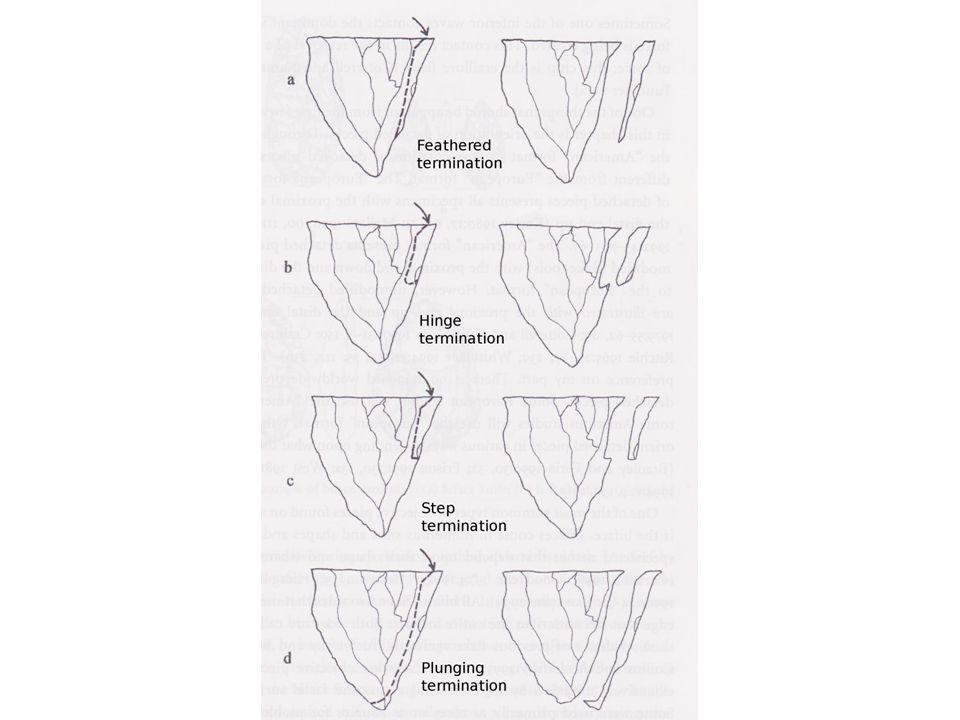 Používané metody při výrobě ŠI Metoda tvrdého otloukače Metoda měkkého otlukače Přímý úder x užití prostředníku Štípání tlakem Speciální metody (žíhání, bandážování)