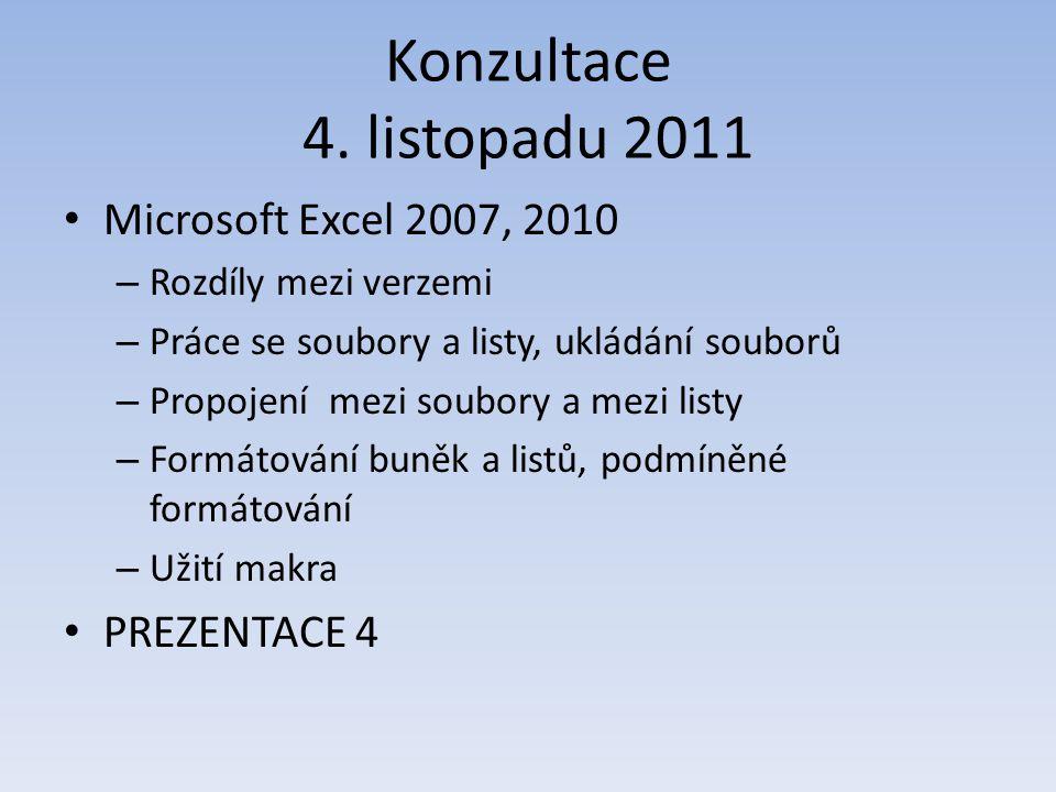 Konzultace 4.