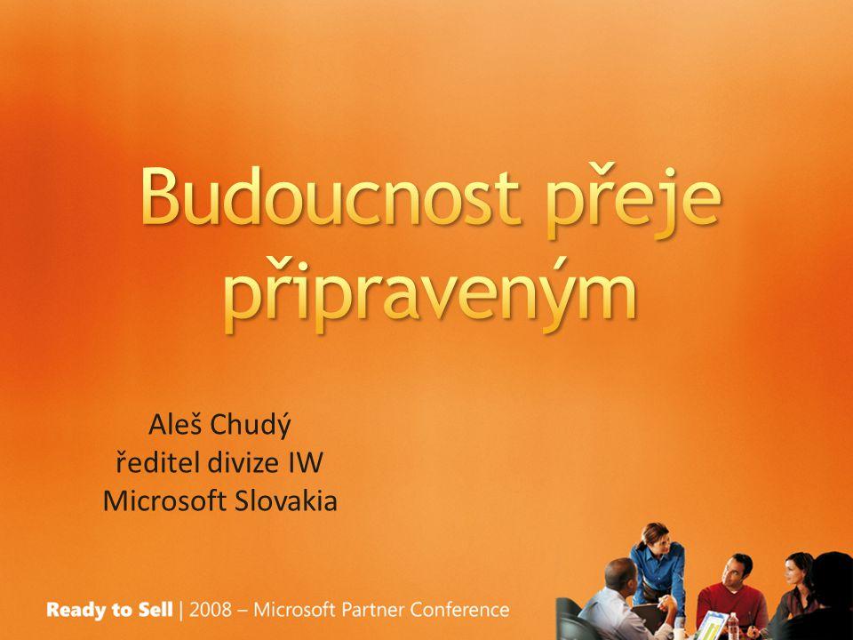 Aleš Chudý ředitel divize IW Microsoft Slovakia